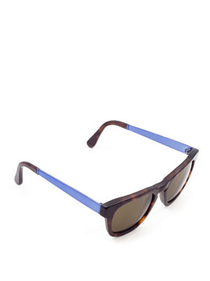 Cutler And Gross: sunglasses - Tortoise square sunglasses
