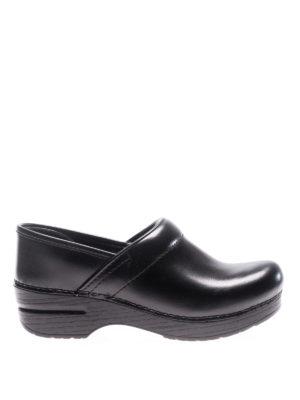 Dansko: mules shoes - Professional black leather clogs