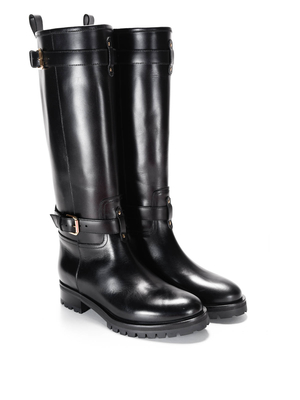 D'Archive by L'Autre Chose: boots - Leather boots with buckles