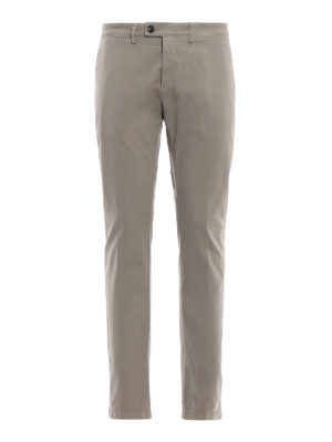 DEPARTMENT 5: pantaloni casual - Pantaloni Mike in twill stretch mastice