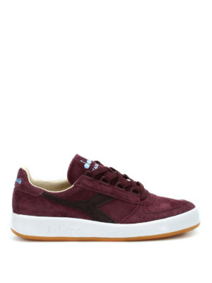 Diadora: trainers - B.Elite suede sneakers
