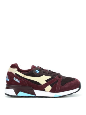 Diadora: trainers - N9000 lace-up sneakers