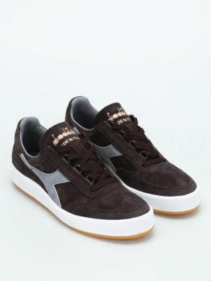 Diadora: trainers online - B.Elite suede sneakers
