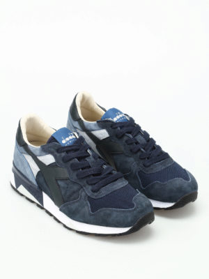 Diadora: trainers online - Trident 90 S blue-tone sneakers