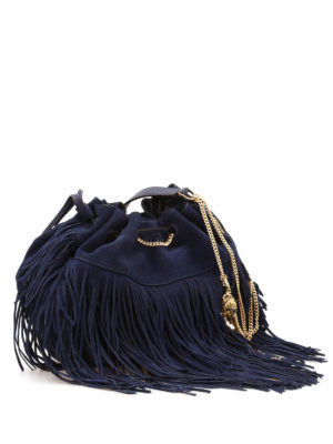 Diane Von Furstenberg: Bucket bags online - Love Power fringed bucket bag