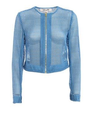 Diane Von Furstenberg: casual jackets - Chain lace jacket