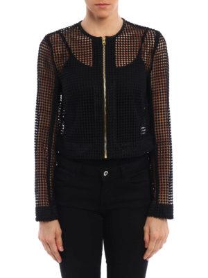 Diane Von Furstenberg: casual jackets online - Chain lace jacket