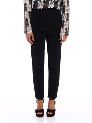 Diane Von Furstenberg: casual trousers online - High waisted skinny trousers