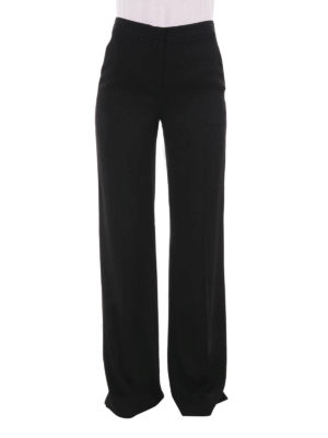 Diane Von Furstenberg: casual trousers online - Wide silk trousers