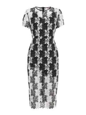 Diane Von Furstenberg: cocktail dresses - Bicolour lace dress