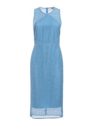 Diane Von Furstenberg: cocktail dresses - Lace and macramé sheath dress
