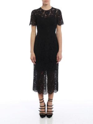 Diane Von Furstenberg: cocktail dresses online - Carly floral lace dress