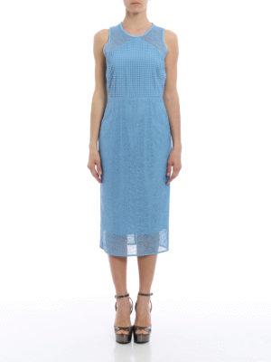 Diane Von Furstenberg: cocktail dresses online - Lace and macramé sheath dress