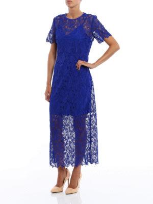 Diane Von Furstenberg: cocktail dresses online - Taylored Overlay Midi dress