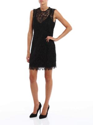 Diane Von Furstenberg: cocktail dresses online - Taylored Overlay Mini dress