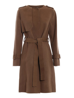 Diane Von Furstenberg: knee length coats - Luna coat