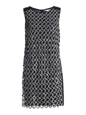 Diane Von Furstenberg: knee length dresses - Joylyn Emb dress