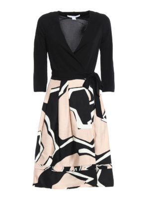 Diane Von Furstenberg: knee length dresses - New Jewel dress