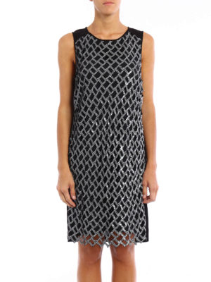 Diane Von Furstenberg: knee length dresses online - Joylyn Emb dress