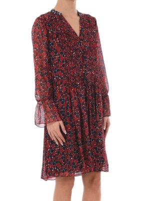 Diane Von Furstenberg: knee length dresses online - Kourtni silk chiffon dress