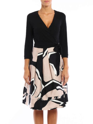 Diane Von Furstenberg: knee length dresses online - New Jewel dress