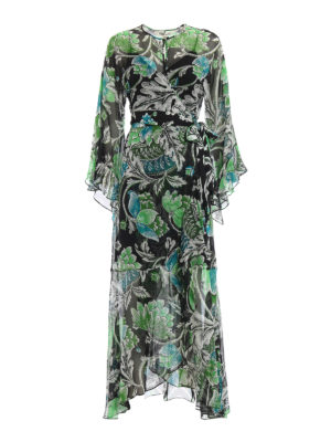 3c42803abfee Diane von Furstenberg  abiti lunghi - Maxi abito Lizella floreale in crepe