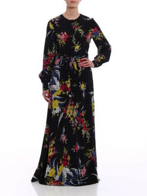 Diane Von Furstenberg: maxi dresses online - Floral silk maxi dress