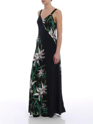 Diane Von Furstenberg: maxi dresses online - Printed silk panels long dress
