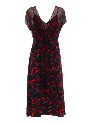 Diane Von Furstenberg: maxi dresses - Patterned silk A-line dress