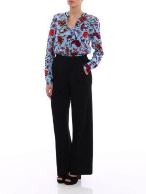 Diane Von Furstenberg: shirts online - Crepe de chine printed shirt