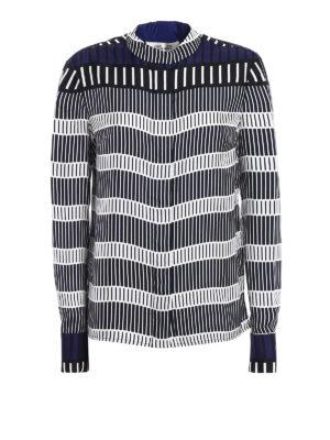 Diane Von Furstenberg: shirts - Rodin print silk shirt