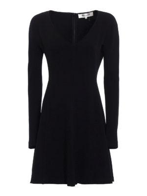 Diane Von Furstenberg: short dresses - Crepe cady short dress