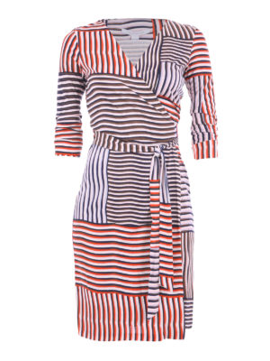 Diane Von Furstenberg: short dresses - New Julian Two silk wrap dress