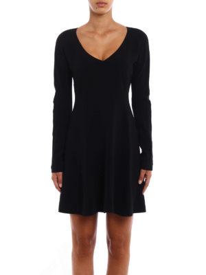 Diane Von Furstenberg: short dresses online - Crepe cady short dress