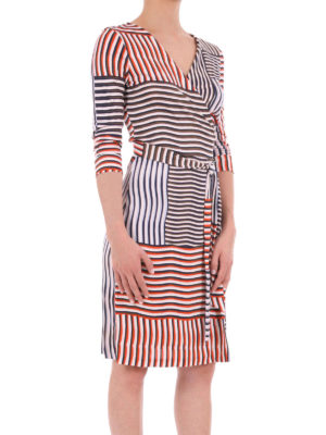 Diane Von Furstenberg: short dresses online - New Julian Two silk wrap dress