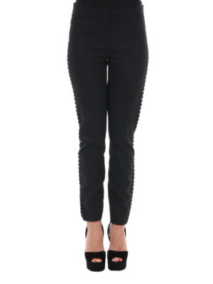 Diane Von Furstenberg: Tailored & Formal trousers online - Marjie embellished trousers