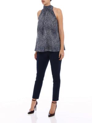 Diane Von Furstenberg: Tops & Tank tops online - Silk twill printed tank top