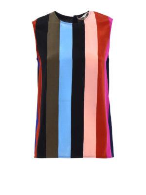 Diane Von Furstenberg: Tops & Tank tops - Silk crepe de chine top