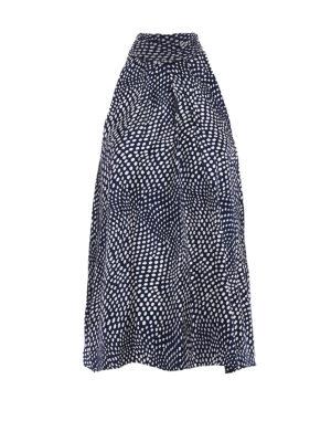 Diane Von Furstenberg: Tops & Tank tops - Silk twill printed tank top