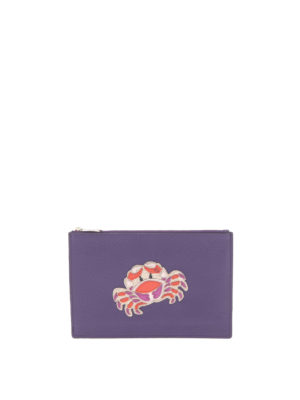 Diane Von Furstenberg: wallets & purses - Cancer Zodiac pouch