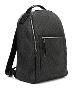 Dior: backpacks online - Darklight coated canvas backpack