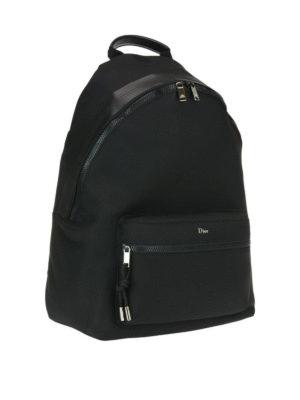 Dior: backpacks online - Leather detailed nylon rucksack