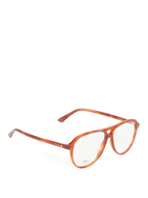 Dior: glasses - Acetate aviator optical glasses