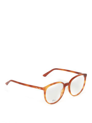 Dior: glasses - Acetate optical glasses with logo
