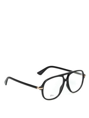 DIOR: Occhiali - Occhiali da vista DiorEssence16 neri