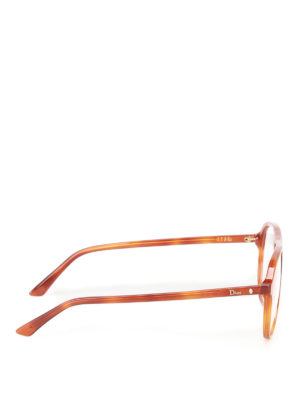 Dior: glasses online - Acetate aviator optical glasses