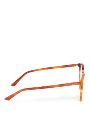 Dior: glasses online - Acetate optical glasses with logo