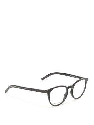 Dior: glasses - Optyl black optical glasses