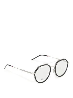 Dior: glasses - Two-tone optical glasses
