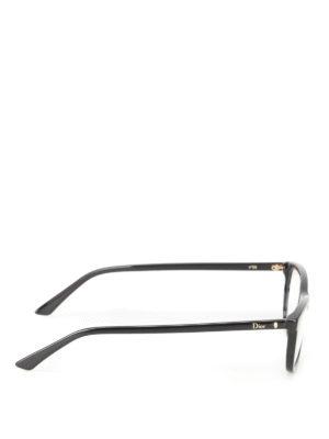 DIOR: Occhiali online - Occhiali da vista con logo dorato